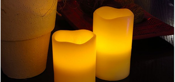 Wax LED Candles