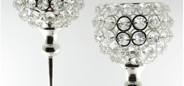 Crystal Series Candle Holders