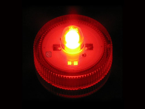 10 Red Submersible Led Lights